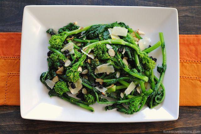 negimaki with broccolini and rice charred broccolini with garlic caper ...