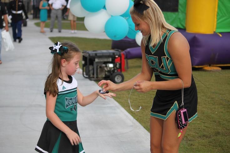 Future Cheerleader!