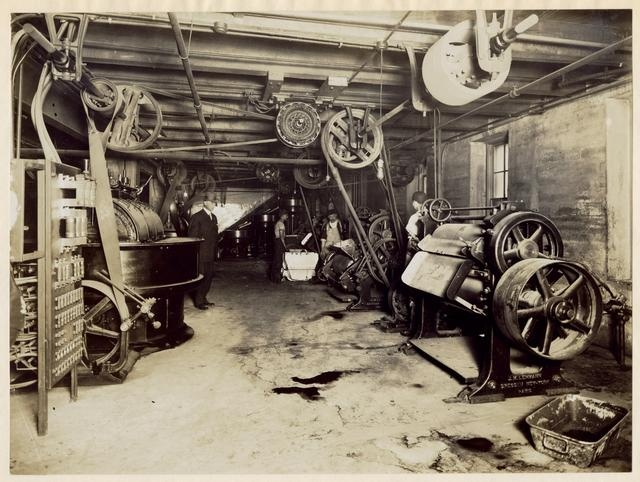Before the Pure Food and Drugs Act was enacted, factory conditions were horrific. This candy factory probably cleaned up its act for its inspection.