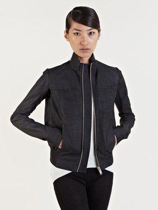 Women s Leather Bomber Jacket Rick Owens | Looks I love | Pinterest