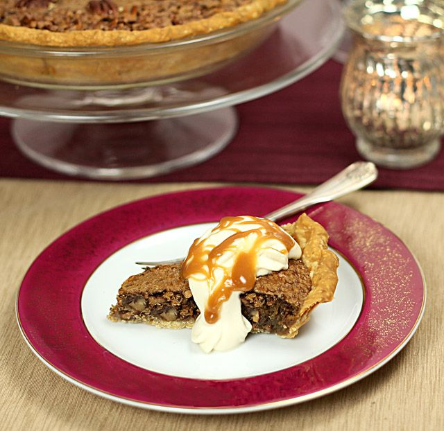Maple and Toasted Pecan Pie with Maple Whipped Cream | Creative ...