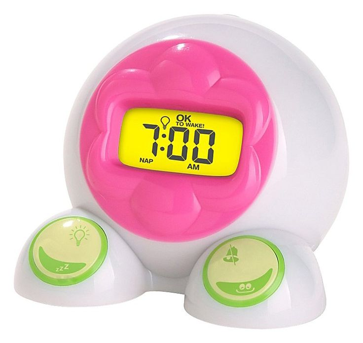 Ok to wake alarm clock and night light changes to green when it 39 s ok for kids to go wake - Timer night light for toddlers ...