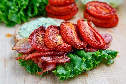 Slow Roasted Tomato BLT | Dinner | Pinterest