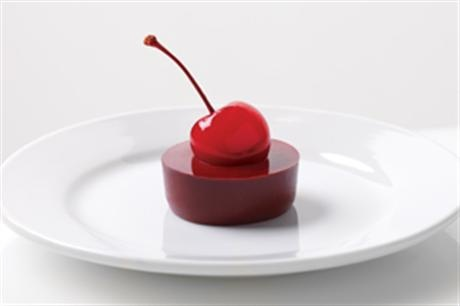 Cherry Jello, evap mile, chocolate and cherries. Doesn't get much better than that!