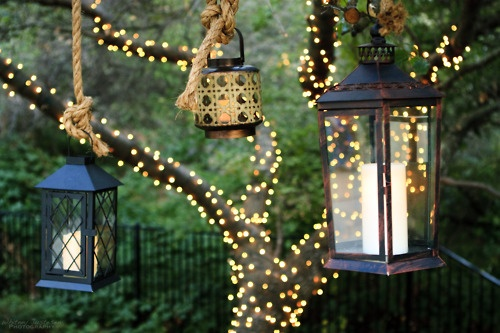 Beautiful lantern decorations