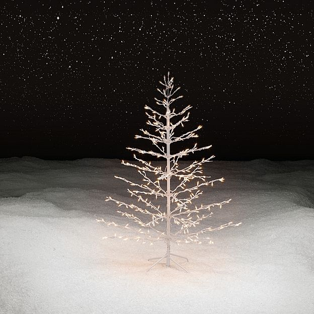Outdoor lighted 5 39 christmas tree christmas lights Outdoor christmas tree photos