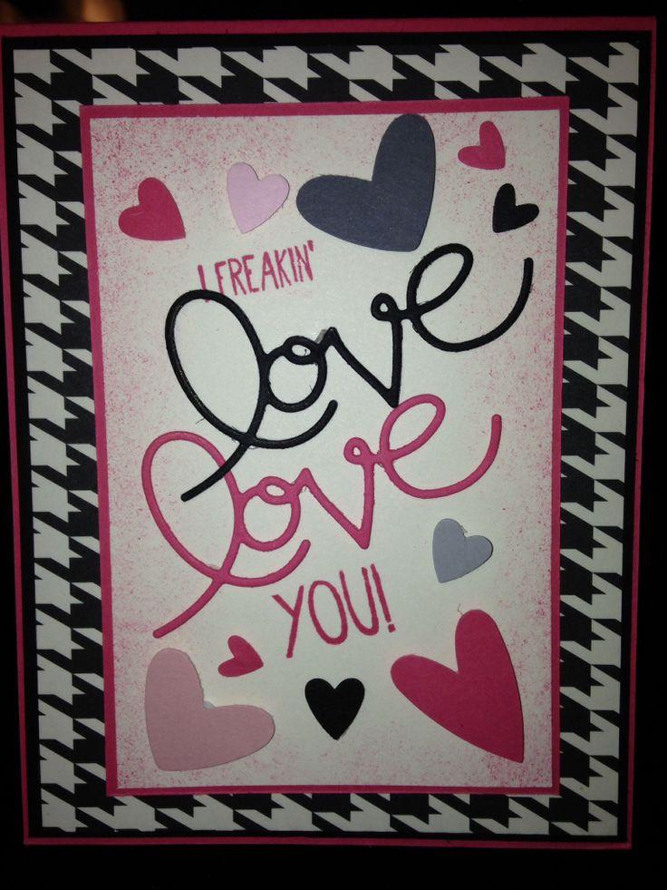Anniversary or Valentine's Day card