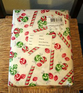 Flannel sheet sets new disney christmas candy mickey mouse queen