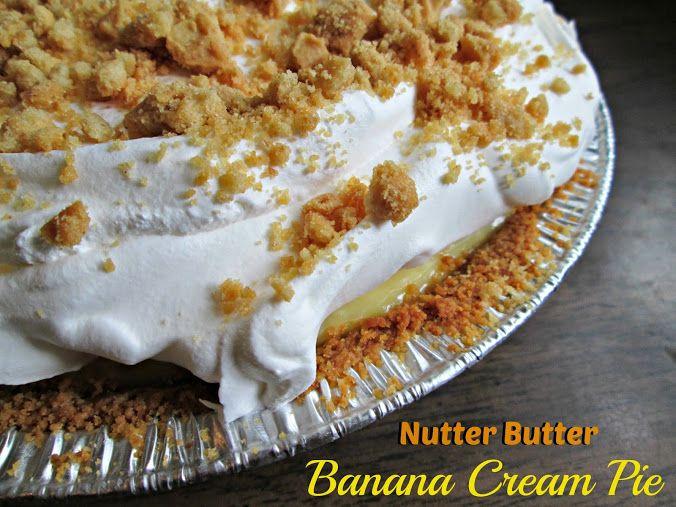 Nutter Butter- Peanut Butter Pie Recipe — Dishmaps