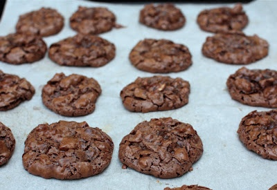 Chocolate Pecan Puddle Cookies | recipes | Pinterest
