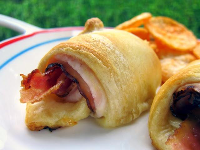 Turkey Bacon Crescents | Plain Chicken | Football Party AnYoNe | Pint ...
