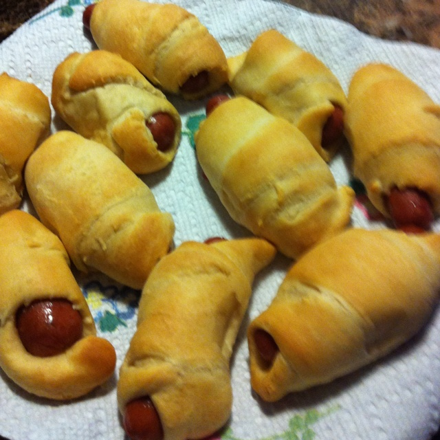 Pigs in a blanket! No cocktail party is complete without these!