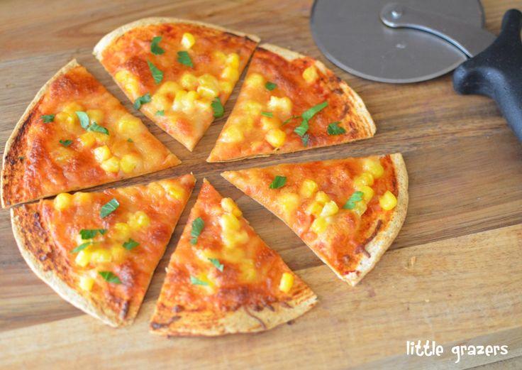 tortilla pizza little grazers