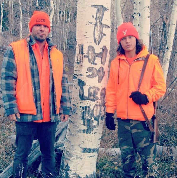 Photos: Leo Howard Hunting With His Dad October 23, 2013 Leo Howard And His Dad