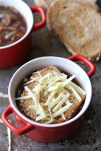 French Onion & Endive Soup Recipe with Pancetta | Recipe