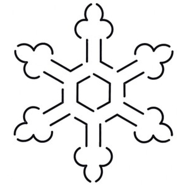 Free Snowflake Quilting Stencil : Pin by Katie Wessman on Quilting Pinterest