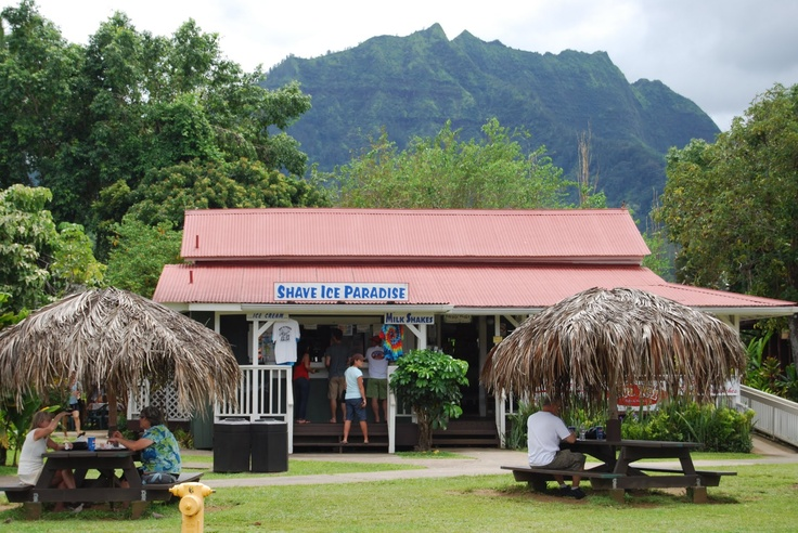Shave ice in Hanalei. Photo by jwgiblin3@hotmail.com