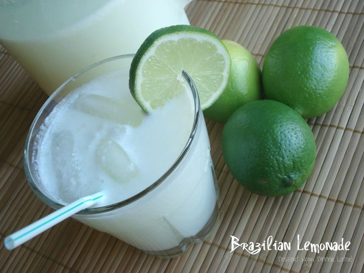 Brazilian Lemonade | Recipe