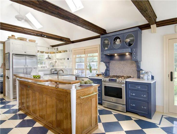 Cozy Country Rustic Kitchen by Sue Adams on HomePortfolio #1
