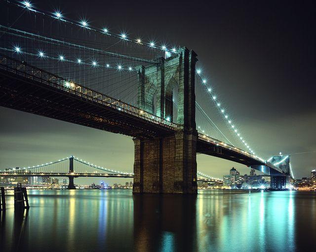 Brooklyn Bridge, New York City, photographed by andrew c mace