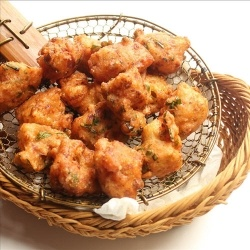 chickpea battered fried cauliflower | To cook! | Pinterest