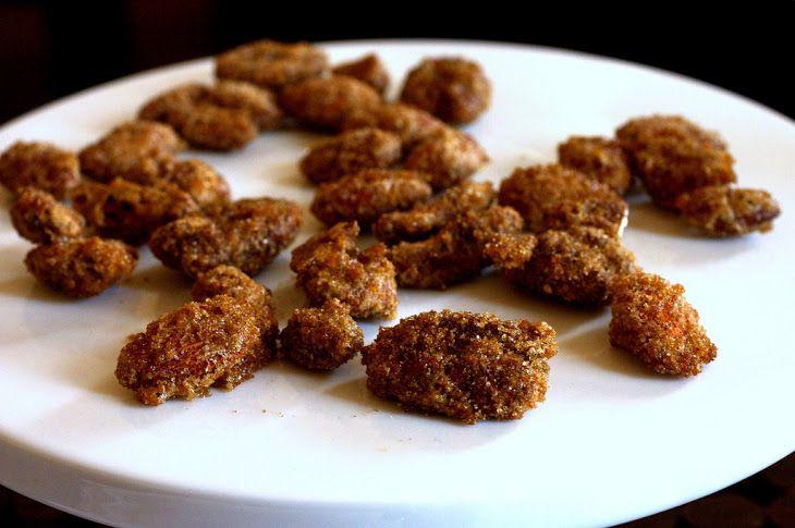 Sugar-and-Spice Candied Nuts III Recipe with dark brown sugar ...