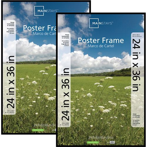 how to make a picture frame out of poster board
