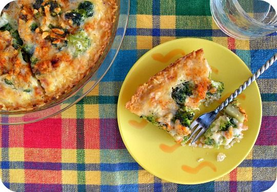 broc-quiche-in-brown-rice-crust-2.jpg | want to try.... | Pinterest