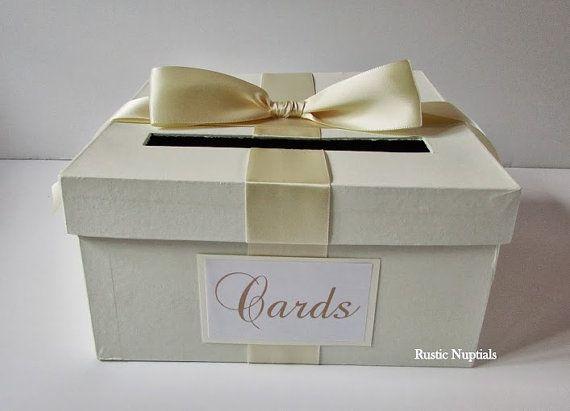 wedding card box tiffany baby shower card holder by rusticnuptials
