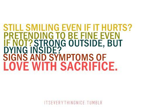 love sacrifices essay