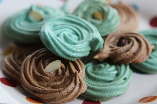 Passover Easter Spring Holiday Meringues | candy | Pinterest