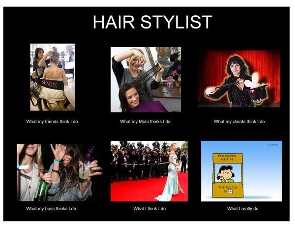 Funny Memes For Hairstylists : Funny hair stylist meme hairdresser humor pinterest
