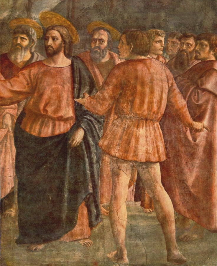 Capella Bracancci - Masaccio - El tributo de la moneda