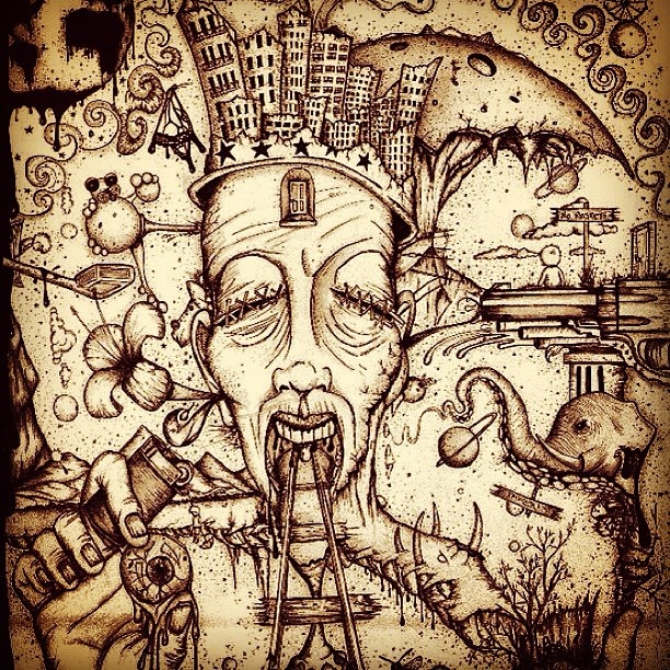 Go Back gt Gallery For Trippy Drawings Ideas
