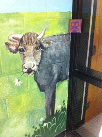 Love this cow!!! | Art Class Ideas | Pinterest