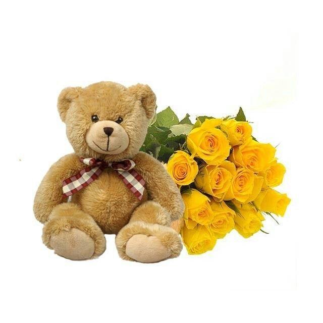 Yellow Roses | ♥ Teddy Bears ♥ | Pinterest