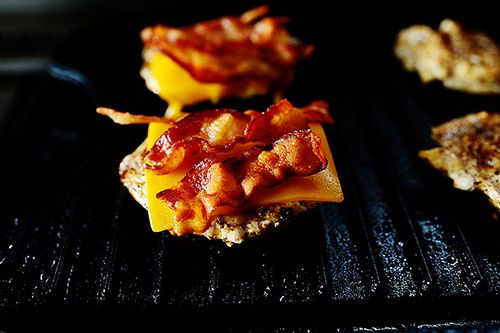 Grilled Chicken Bacon Sliders- pioneer woman