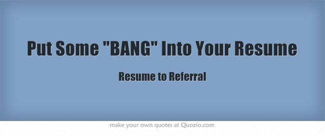 put some into your resume resume tips