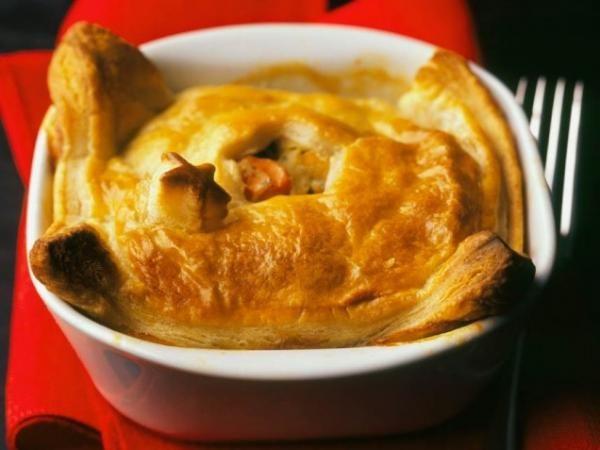 Quick fix chicken pot pie | basic chef | Pinterest