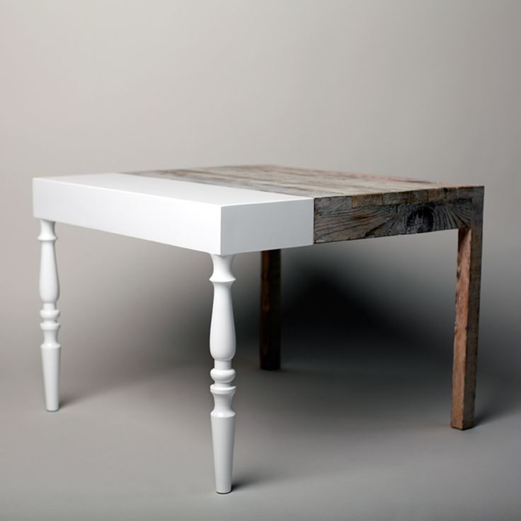 Recycled table by Ziben * Eco Deco * Alina Contreras