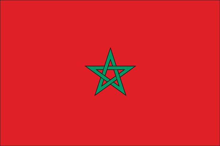 flag for morocco