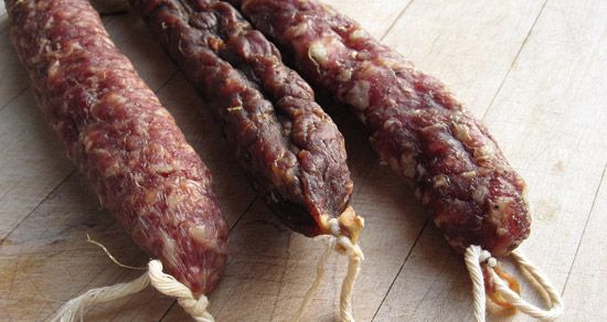 how to cook air dried sausage