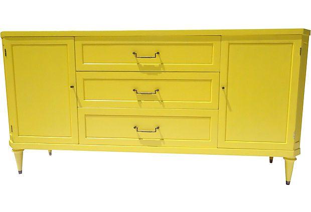 Yellow Buffet Aaahmazing Bungalow Style Pinterest