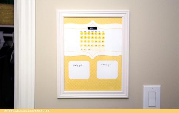Outstanding Whiteboard Calendar by Sweet & Lau | http://sweetandlau..ca 600 x 380 · 52 kB · jpeg