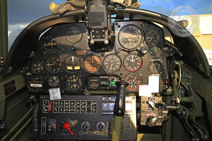 Curtiss P-40N Cockpit | Curtiss P-40 Warhawk | Pinterest