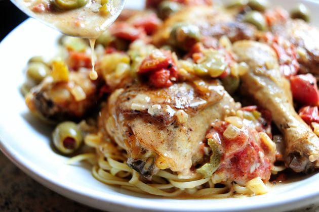 Chicken with Olives   Recipe