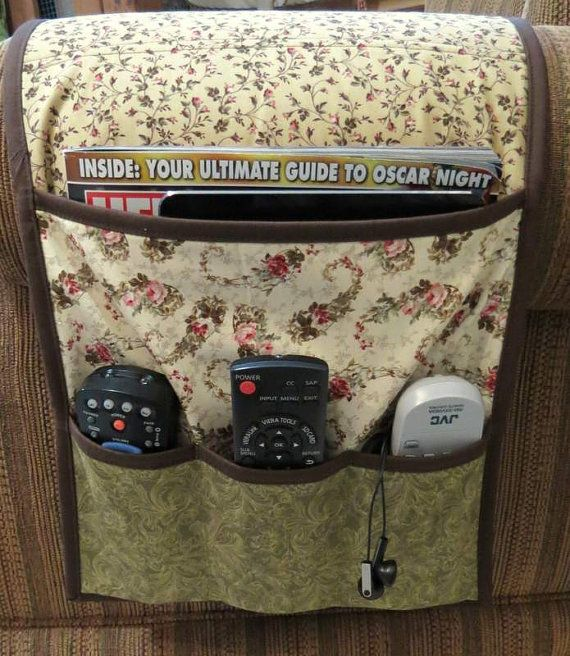 Armchair Caddy Bedside Caddy Remote Holder