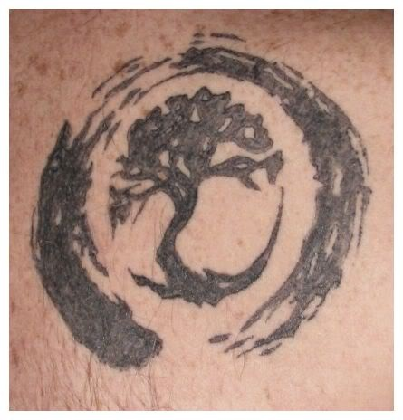 Zen Tree Tattoo Zen Circle Tree Tattoo DesignZen Tree Tattoo