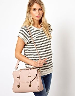 vegan bag in pastel pink from asos #vegan #veganbag