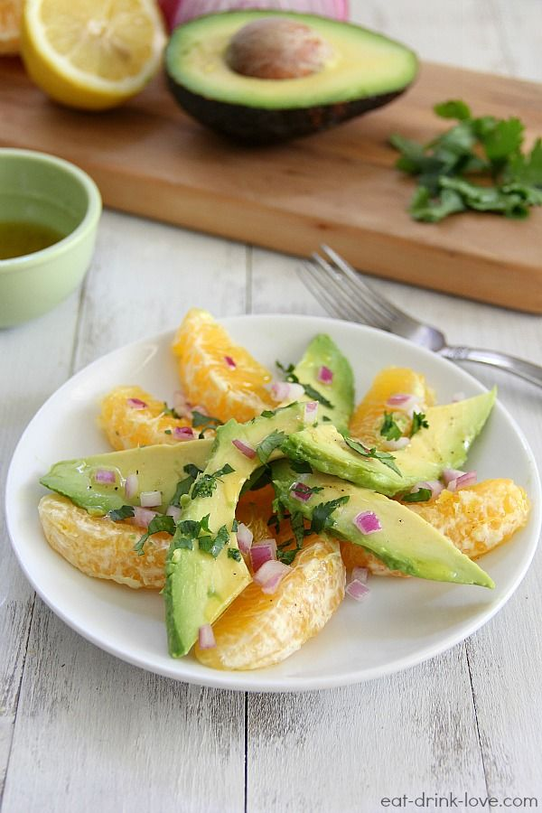 Avocado Citrus Salad | Recipe